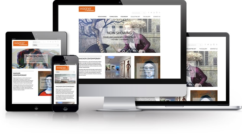 Wagner Contemporary website