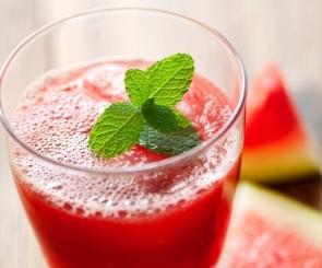 Photo of watermelon slushie