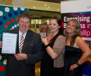 Photo at the 2010 COPP Business Awards