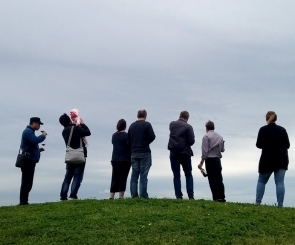 Web Prophest staff and family on wine tour