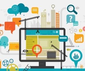 Graphics image of website planning
