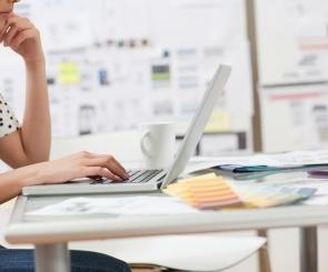 Photo of website designer